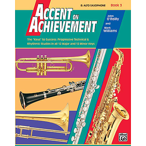 Accent on Achievement, Book 3: Eb Alto Saxophone