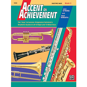 Accent on Achievement, Book 3: Electric Bass