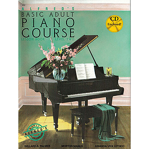 Alfred's Basic Adult Piano Course - Lesson Book Level 2, Book and CD