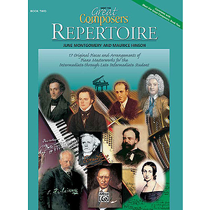 Meet the Great Composers - Book 2, Repertoire Book
