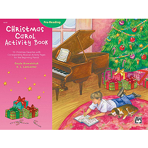 Christmas Carol Activity Book - Pre-Reading