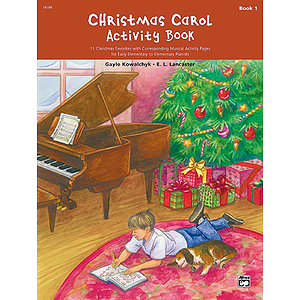 Christmas Carol Activity Book - Book 1