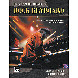 Learn From the Legends: Rock Keyboard - Book
