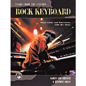 Learn From the Legends: Rock Keyboard - Book & CD