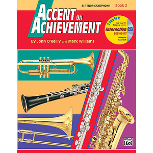Accent on Achievement, Book 2: Bb Tenor Saxophone