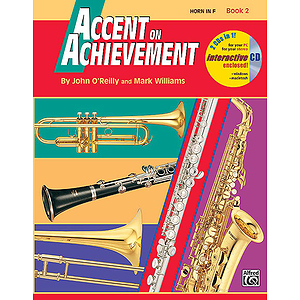 Accent on Achievement, Book 2: Horn in F