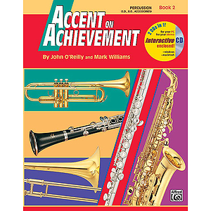 Accent on Achievement, Book 2: Percussion!Snare Drum, Bass Drum and Accessories