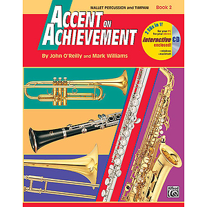 Accent on Achievement, Book 2: Mallet Percussion and Timpani