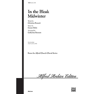 In the Bleak Midwinter - SAB