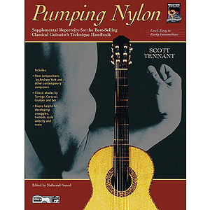 Pumping Nylon: Easy To Early Intermediate Repertoire - Book
