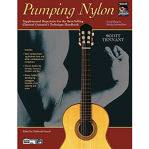 Pumping Nylon: Easy To Early Intermediate Repertoire - Book & CD