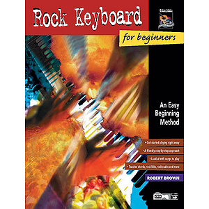 Rock Keyboard for Beginners - Book