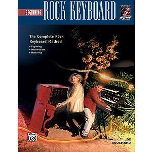 Beginning Rock Keyboard - Book
