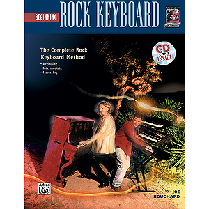 Beginning Rock Keyboard - Book & CD