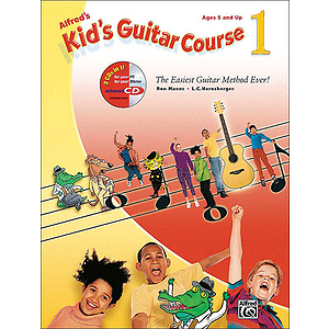 Kid&#039;s Guitar Course 1 - Book &amp; Enhanced CD