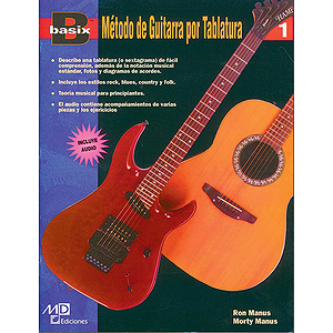 Basix Tab Guitar Method, Book 1 (Spanish Edition) Book & CD