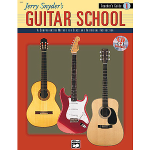 Jerry Snyder's Guitar School - Teacher's Guide Book 1 - Book & CD