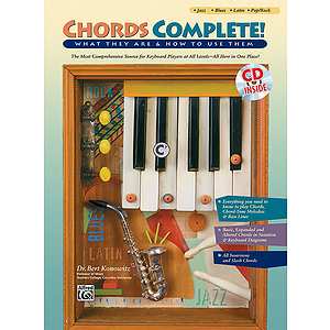 Chords Complete - Book & CD