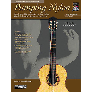 Pumping Nylon: Intermediate To Advanced Repertoire - Book