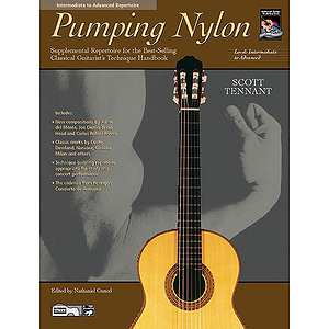 Pumping Nylon: Intermediate To Advanced Repertoire - Book & CD