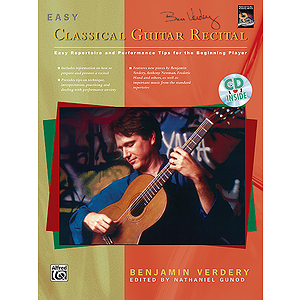 Easy Classical Guitar Recital - Book & CD