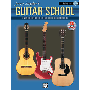 Jerry Snyder's Guitar School - Method Book 2 - Book & CD