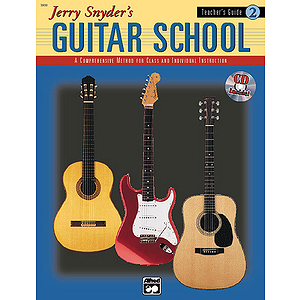 Jerry Snyder's Guitar School - Teacher's Guide Book 2 - Book & CD