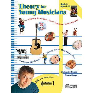 Theory for Young Musicians, Book 2 - Book &amp; CD