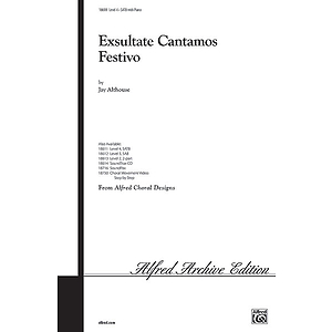 Exsultate Cantamos Festivo - SATB