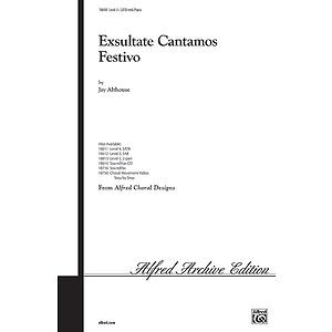 Exsultate Cantamos Festivo - SATB
