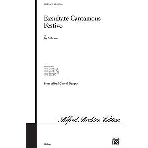 Exsultate Cantamos Festivo - SAB