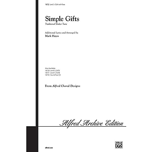 Simple Gifts - SSAA