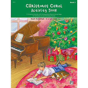 Christmas Carol Activity Book - Book 2