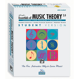Essentials of Music Theory Software, Version 2.0 - Complete - CD-ROM (Win/Mac)