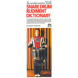 Snare Drum Rudiment Dictionary (Handy Guide)