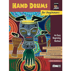 Hand Drums for Beginners - Book Only