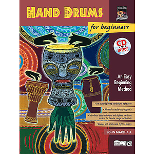 Hand Drums for Beginners - Book &amp; CD