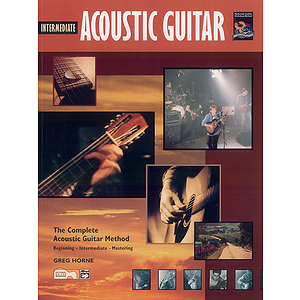 Intermediate Acoustic Guitar - Book & CD