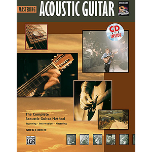 Mastering Acoustic Guitar - Book & CD