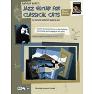 Jazz Guitar for Classical Cats: Chord/Melody - Book & CD