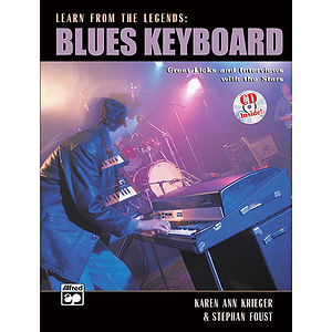 Learn From the Legends: Blues Keyboard - Book