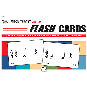Essentials of Music Theory - Flash Cards (Rhythm)