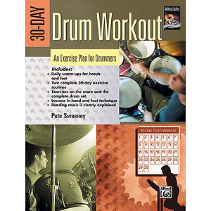 30-Day Drum Workout - Book Only