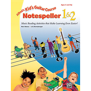 Kid&#039;s Guitar Course Notespeller 1 &amp; 2