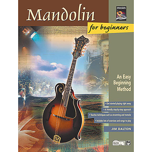 Mandolin for Beginners - Book & CD