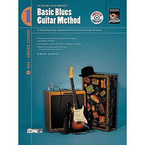 Basic Blues Guitar Method, Book 1 - Book & Enhanced CD