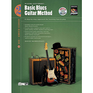 Basic Blues Guitar Method, Book 2 - Book & Enhanced CD