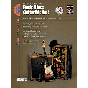 Basic Blues Guitar Method, Book 3 - Book &amp; CD