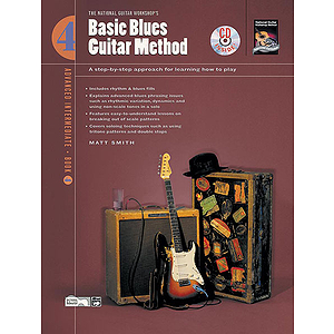 Basic Blues Guitar Method, Book 4 - Book & CD