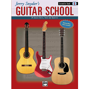 Jerry Snyder's Guitar School - Ensemble Book 1